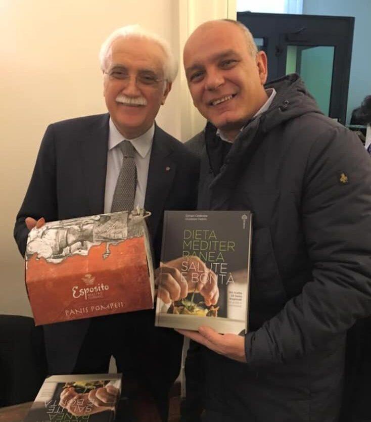 Giorgio Calabrese e Carmelo Esposito